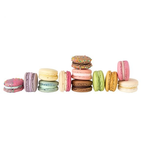macarons-in-a-row